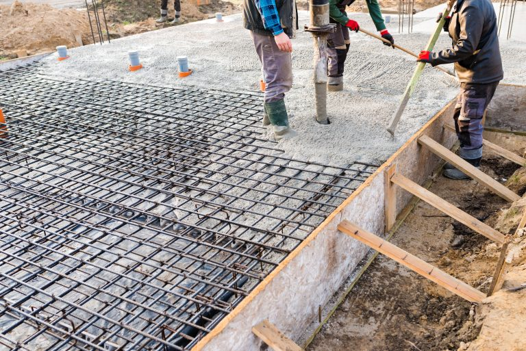 Concrete Slab foundation pouring Concrete Contractor Salt Lake City, Utah